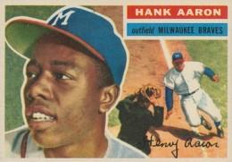 1956 Topps Baseball Hank Aaron