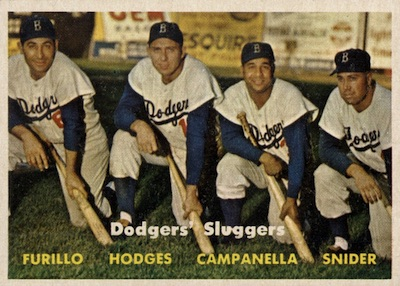 Top 10 Vintage Baseball Card Singles of 1957 7