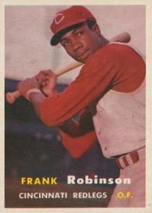 1957 Topps Baseball Frank Robinson RC