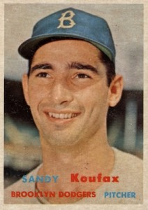 Top 10 Sandy Koufax Baseball Cards 7
