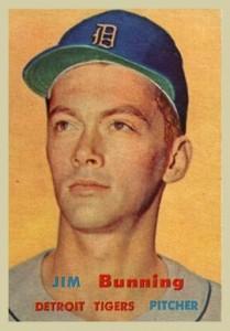 1957 Topps Jim Bunning