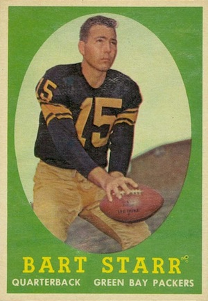 Celebrate the Packers Legend with the Top 10 Bart Starr Cards 2