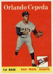 Top 10 Vintage Baseball Card Singles of 1958 1