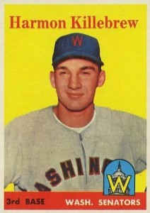 Top 10 Harmon Killebrew Baseball Cards 6
