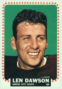 Top 10 Len Dawson Football Cards 9