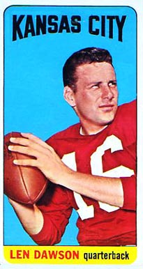 Top 10 Len Dawson Football Cards 8