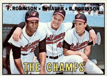Top 10 Frank Robinson Baseball Cards 3