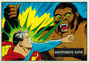 1968 Topps Superman In The Jungle Proof