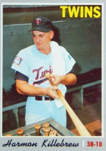 Top 10 Harmon Killebrew Baseball Cards 1