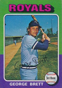 Top 10 George Brett Baseball Cards 9