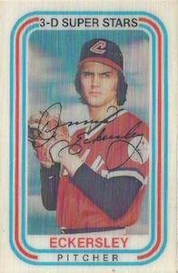 Top 10 Dennis Eckersley Baseball Cards 8