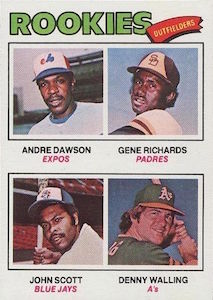 Top 10 Andre Dawson Baseball Cards 10