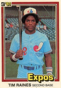 Top 10 Tim Raines Baseball Cards 8