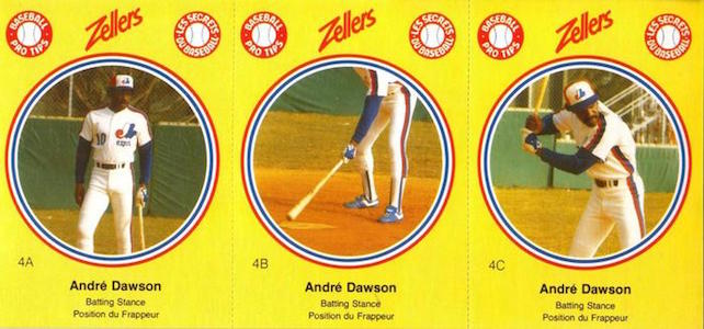 Top 10 Andre Dawson Baseball Cards 8