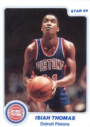 1983-84 Star Company Basketball Cards 5