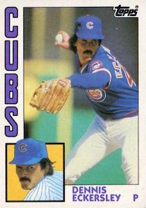Top 10 Dennis Eckersley Baseball Cards 1