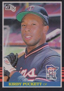Top 10 Kirby Puckett Baseball Cards 5