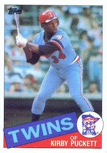 Top 10 Kirby Puckett Baseball Cards 6