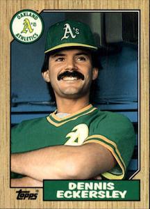Top 10 Dennis Eckersley Baseball Cards 2