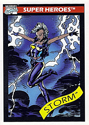 1990 Impel Marvel Universe Trading Cards 3