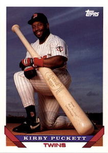 Top 10 Kirby Puckett Baseball Cards 1