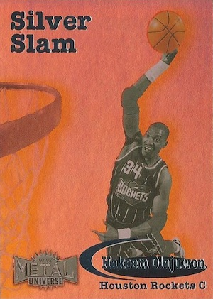 1997-98 Skybox Metal Universe Basketball Cards 11