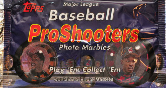 1997 Topps ProShooters Marbles 3