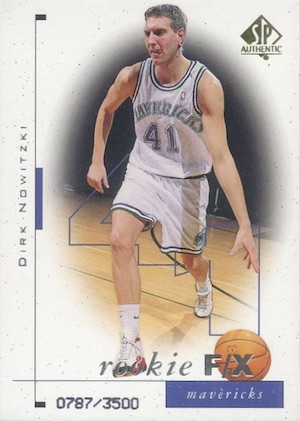 Dirk Nowitzki Rookie Cards Checklist 2