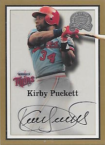 Top 10 Kirby Puckett Baseball Cards 7