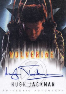2000 Topps X-Men Movie Hugh Jackman Autograph