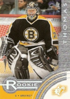 2001-02 SPx Rookie Redemption Tim Thomas (/1,250)