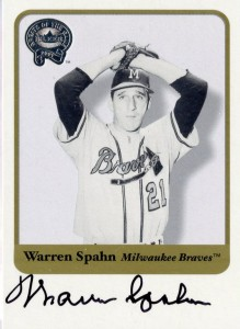 Top 10 Warren Spahn Baseball Cards 7
