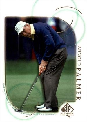 2001 SP Authentic Golf Cards 3