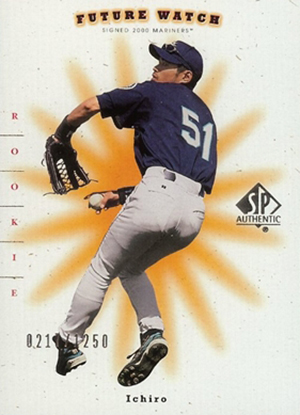Collect the Best Ichiro Suzuki Rookie Cards 8
