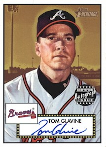 Top 10 Tom Glavine Baseball Cards 9