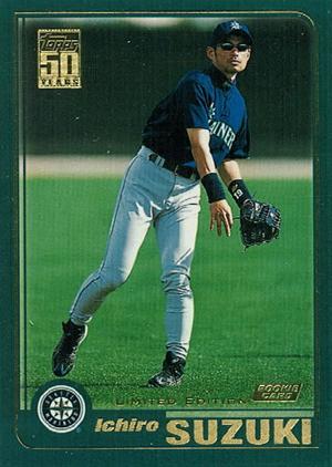 2001 Topps Baseball Cards 3