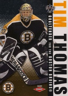 2002-03 Pacific Vanguard Tim Thomas (/1,650)
