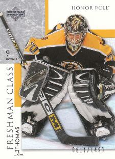 2002-03 Upper Deck Honor Roll Tim Thomas (/1,499)