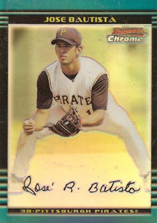 Jose Bautista Rookie Card Checklist 8