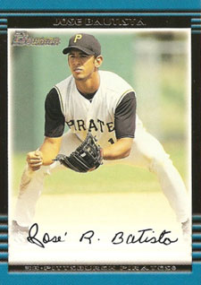 Jose Bautista Rookie Card Checklist 4