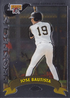 2002 Topps Chrome Traded Jose Bautista