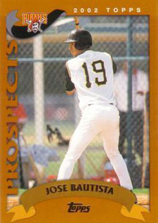 2002 Topps Traded Jose Bautista