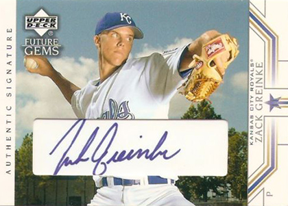 Zack Greinke Rookie Cards Checklist and Guide 3
