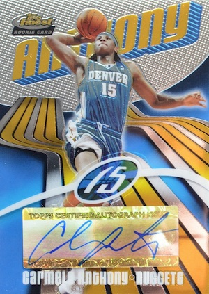 Top 10 Carmelo Anthony Rookie Cards 5
