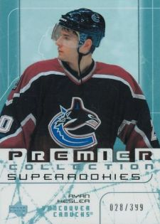 2003-04 Upper Deck Rookie Premier Ryan Kesler