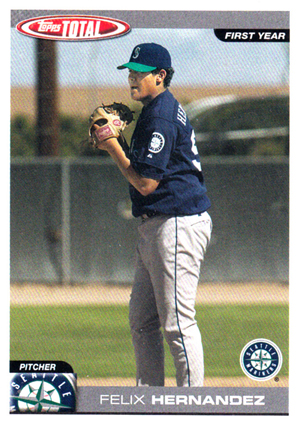 Felix Hernandez Rookie Card Checklist and Guide 8