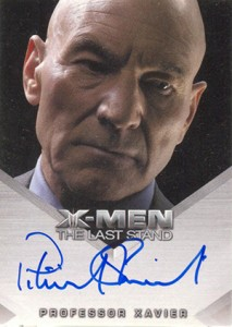 2006 Rittenhouse X-Men The Last Stand Autographs Patrick Stewart