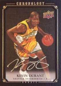 Top 15 Kevin Durant Rookie Cards 11
