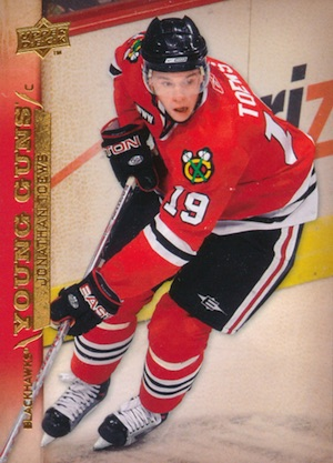 2007-08 Upper Deck Young Guns Jonathan Toews RC