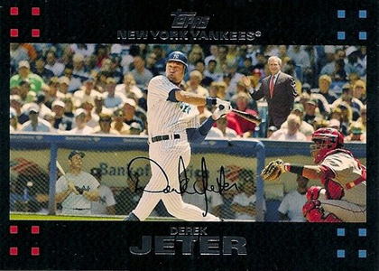 Derek Jeter Topps Cards Through the Years 15